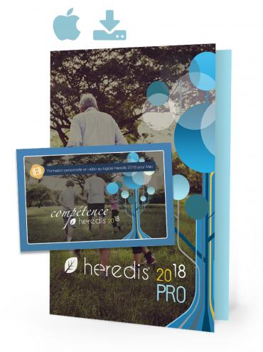 Pack Expert Heredis 2018 Mac et Compétence USB