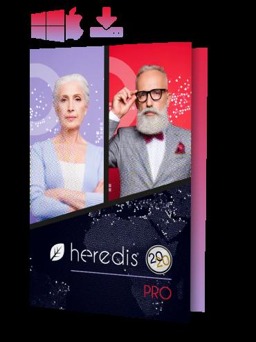 Pack mise à jour Heredis 2019 Pro - Windows et Mac