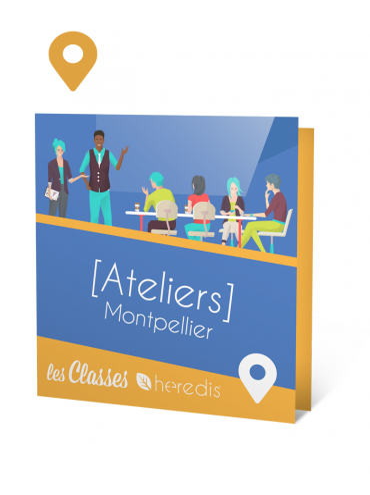 Atelier à Montpellier - 3 jours - 2, 3 et 4 septembre 2020