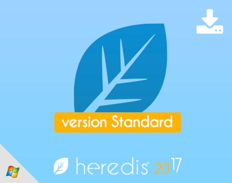 Heredis 2017 Standard - Téléchargement